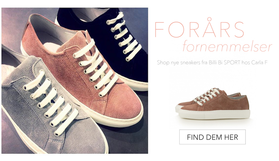 Shop sneakers hos Carla F