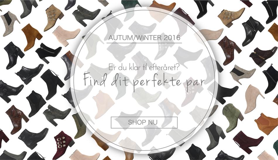 køb efterårsstøvler hos Carla F overgangsstøvler